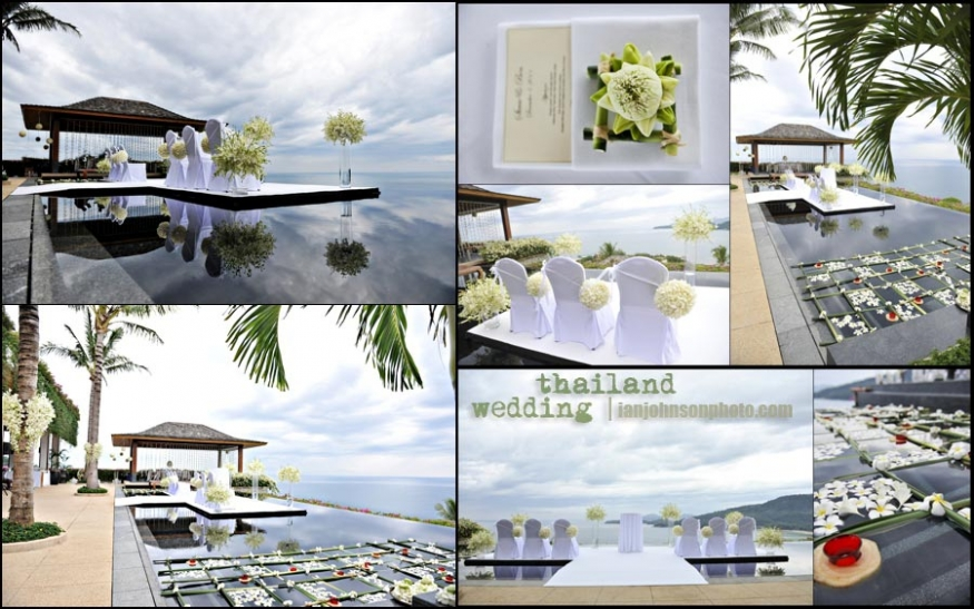 phuket resort weddings Thailand wedding calm before the storm